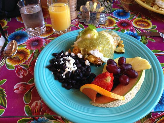 El Paradero Bed and Breakfast Inn: Best meal of our trip!