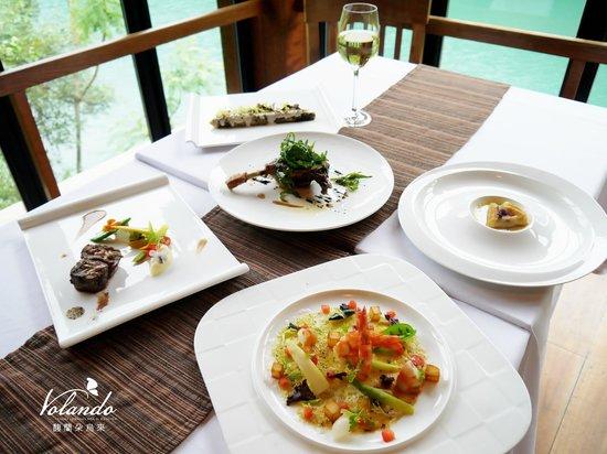 Volando Taipei Urai Spring Spa & Resort: Abu Cuisine Abu餐廳美食