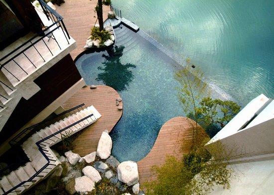 Volando Taipei Urai Spring Spa & Resort: Abu Restaurant Abu餐廳俯瞰