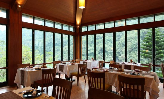 Volando Taipei Urai Spring Spa & Resort: Abu Restaurant Abu 餐廳內部景觀