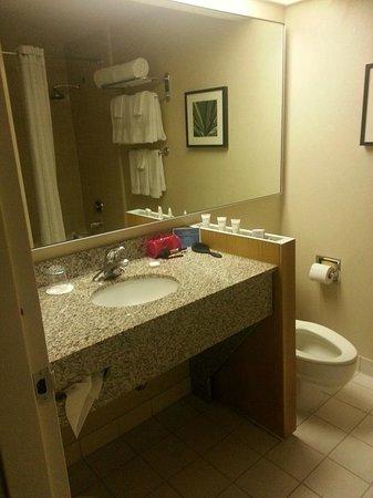 The Domain Hotel: The bathroom