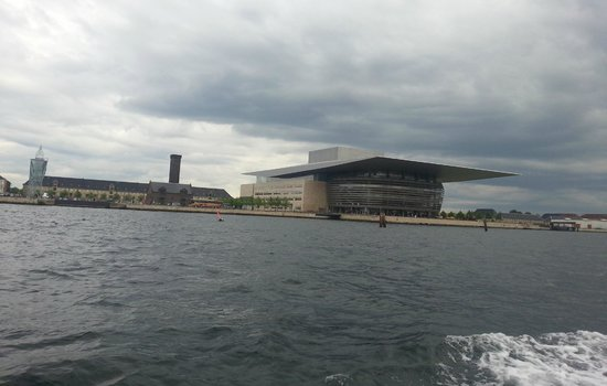 Stromma Canal Tours Copenhagen : Opera House seen from canal