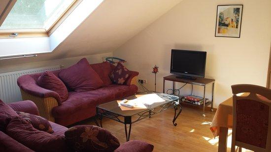 Ferienwohnungen Krauss: living room