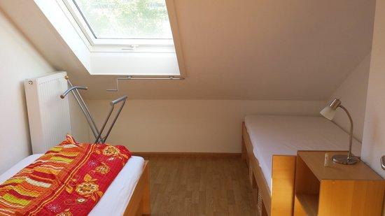 Ferienwohnungen Krauss: one of the bedrooms..