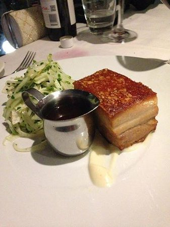 Babbingtons: Pork Belly - Delicious!