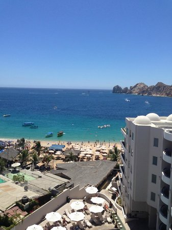 Cabo Villas Beach Resort: From roof top Baja Brewery