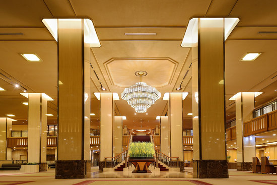 Imperial Hotel Tokyo : Front lobby (image)