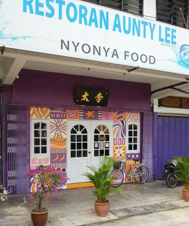 Restoran Aunty Lee: Our humble Restaurant along Jalan Ujong Pasir