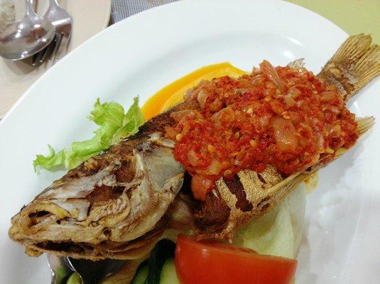Restoran Aunty Lee: Aunty Lee's Cili Garam fish