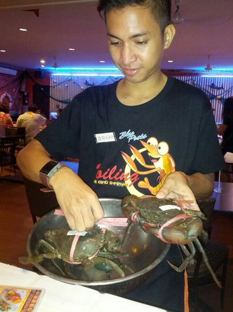 Blue Post Boiling Crabs and Shrimps: Chose your life lobster