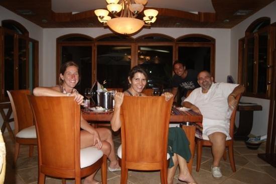 Casa las Palmas Hotel Boutique: Agasajados por Mandy y Gloria