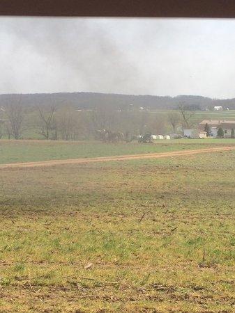 Strasburg Rail Road: Amish plow