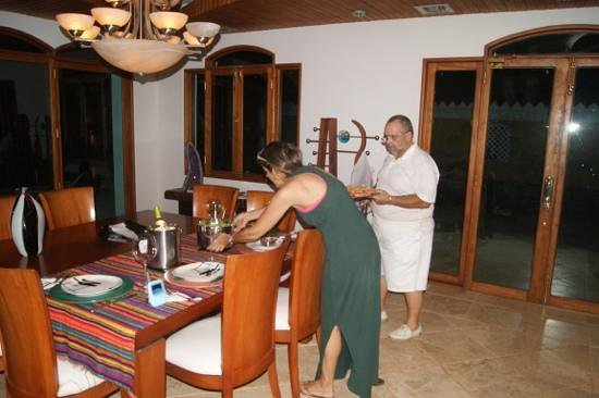 Casa las Palmas Hotel Boutique : Agasajados por Mandy y Gloria!