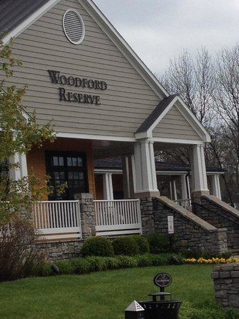 Woodford Reserve Distillery: main house