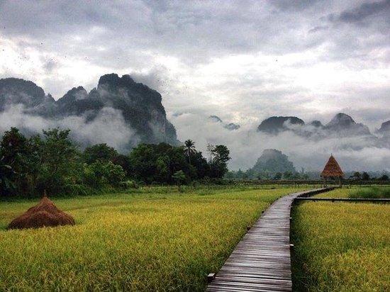 Vieng Tara Villa: Good Morning Vang Vieng
