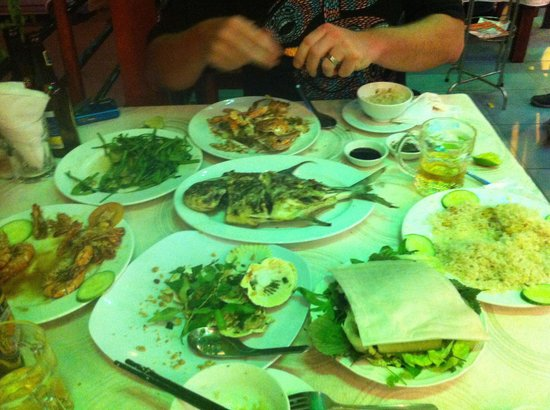 Nhat Phong 3 Seafood Restaurant : Seafood Feast