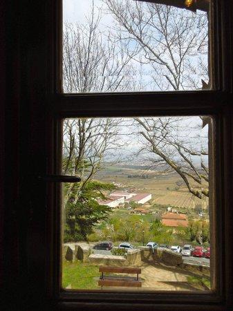 Hotel Castillo El Collado : View from our window - The Sailors room