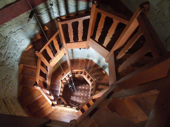 Hotel Castillo El Collado : Inside the tower