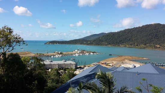 Peppers Airlie Beach : The view from the bar