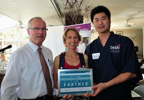 Sushi Wave Authentic Japanese: ecoBiz award 2012