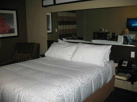 Microtel Inn & Suites by Wyndham Lloydminster: Very comfortable sleeping area