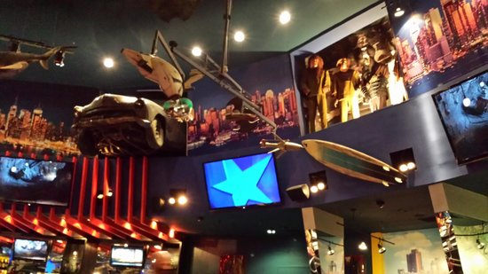 Interior of Planet Hollywood