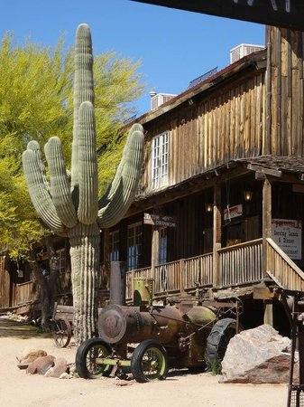 Taking Better Photos Tours: Cactus in Ghost Town Arizona