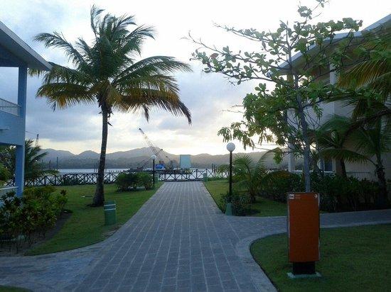 ClubHotel Riu Bachata : L'allée menant vers la plage