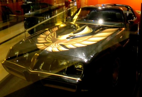 "Country Music Hall of Fame and Museum : The car from ""Smokey and the Bandit"""