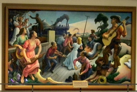 Country Music Hall of Fame and Museum : mural