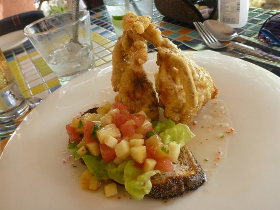La Sal at Casa Del Mar : Crispy Soft Shell Crab