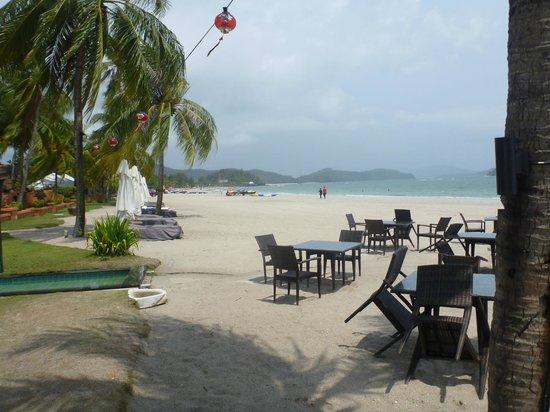 La Sal at Casa Del Mar : Beach front dining
