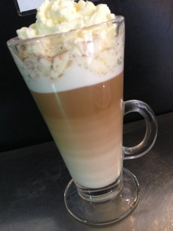 French Vanilla Latte! Yum! - Picture of Salvatores Cafe, Darwin ...