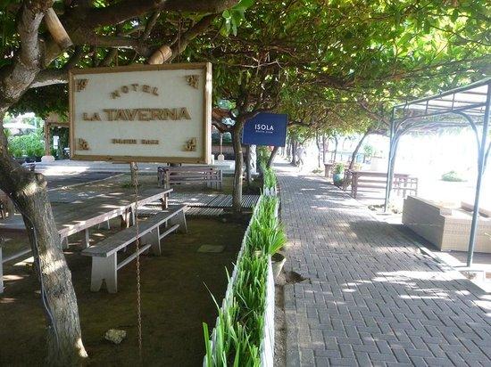 La Taverna Suites : The beachfront and bike path