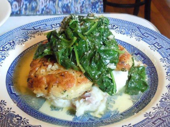 128 Pecan : Chicken Florentine