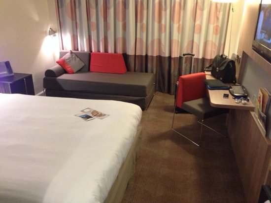 Novotel Manchester Centre: Room in general