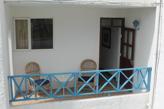 Auberge Miko: Studio balcony