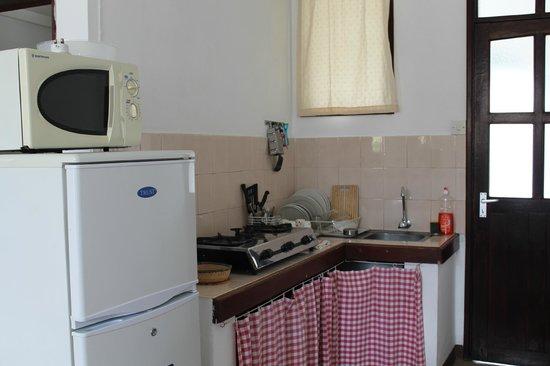 Auberge Miko: Studio kitchenette
