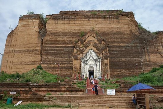 マンダレイ, ミャンマー, 台座だけの遺跡