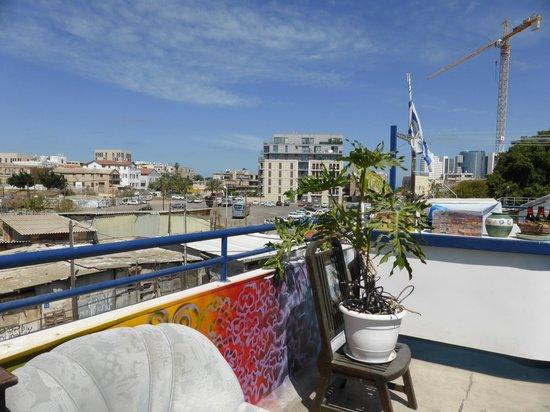 Florentine Hostel: rooftop