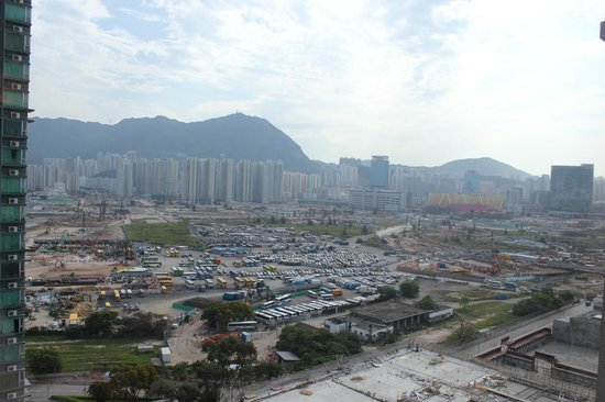 Harbour Plaza 8 Degrees: Daytime View over Kowloon Bay