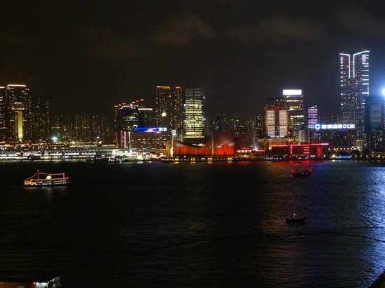 The Harbourview Hong Kong: Nightime light show