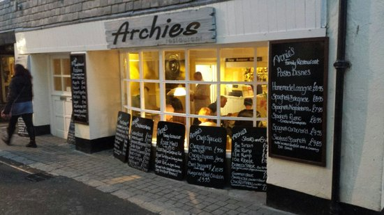 Archies: Little treasure in Looe