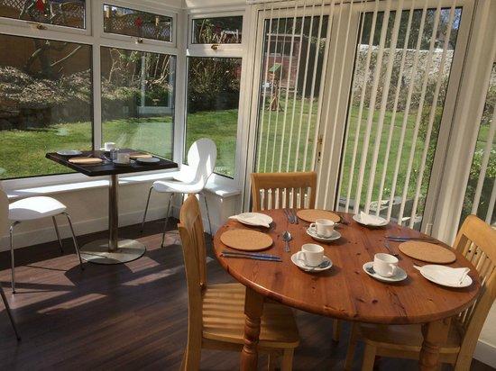 Penwinnick House Bed & Breakfast : Dining