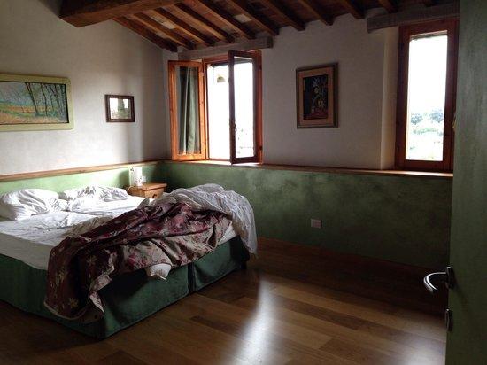 Casacenti : Camera verde