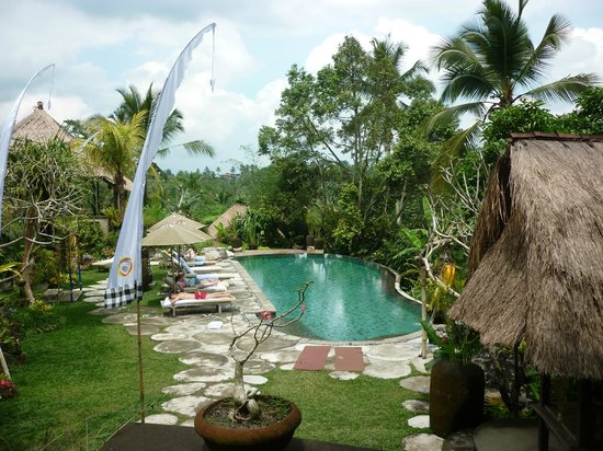 piscine picture of puri gangga resort ubud tripadvisor. Black Bedroom Furniture Sets. Home Design Ideas