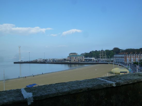 The Fairhaven Hotel: Fairhaven Hotel, Weymouth - view from room