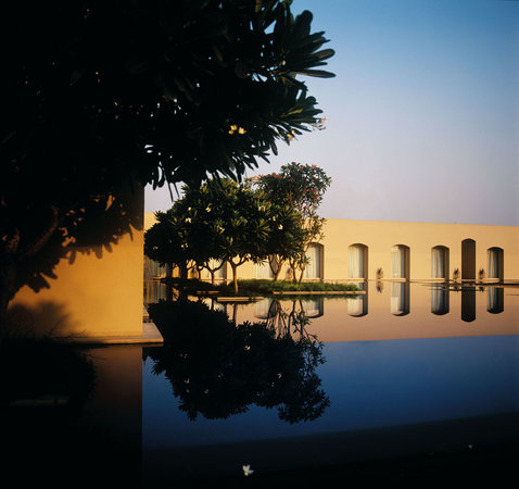 Trident, Gurgaon: Reflection pool
