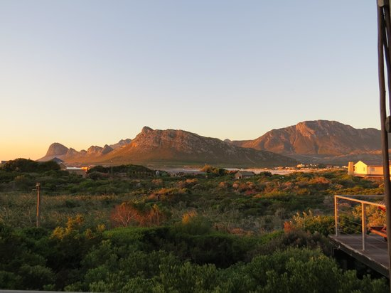 Moonstruck on Pringle Bay Guesthouse: View from the deck