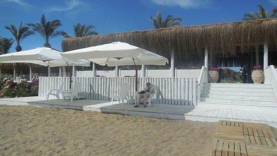 Paloma Grida Resort & Spa: bar beach